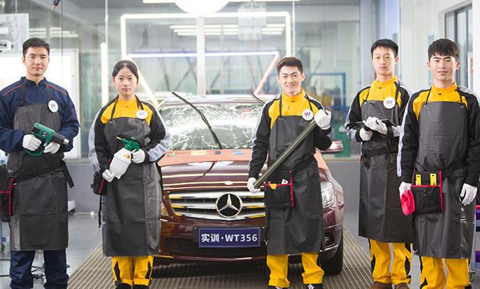 车身外部清洗标准流程